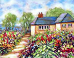 English Cottage - Limited Edition Giclee