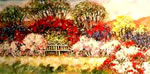 Hidcote Garden Bench - Limited Edition Giclee